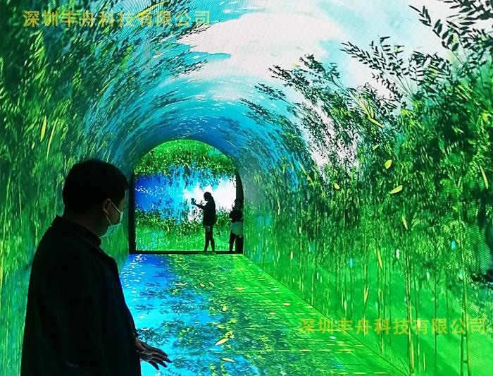 时光隧道-沉浸式互动体验