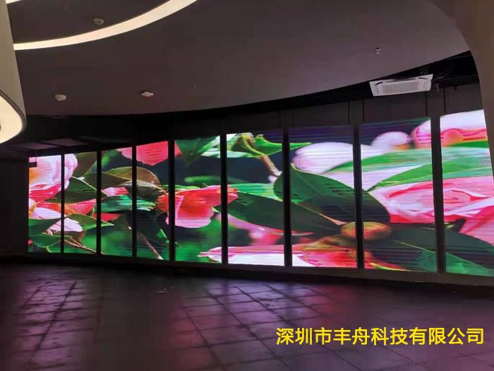 陕西延安南泥湾展厅LED显示屏项目展示