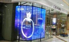 LED透明屏在新零售行业广泛应用