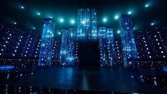LED透明屏在舞美领域的精彩表现,成功助力透明屏在舞美领域广