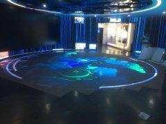 互动感应LED地砖屏始于足下之美