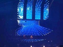 led透明屏与led地砖屏为酒吧舞台带来的更好的视觉场景效果
