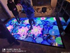 led互动地砖屏的特点与优势