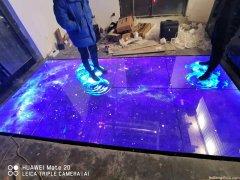 led互动地砖屏山东潍坊网红火锅店项目