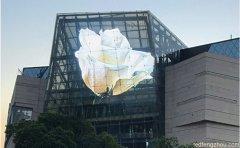 玻璃幕墙LED透明屏苏州龙湖时代天街项目