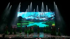 P10室内LED显示屏文山市广南县广南会堂租赁屏85平方米