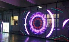 未来LED透明屏在夜景照明行业,必将异彩纷呈