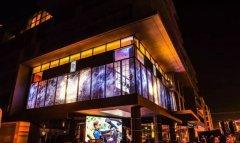 LED透明屏在竞争激烈的销售市场中占有独具特色的竞争力