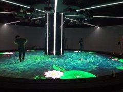 AR深层交互技术,LED地砖屏打造沉浸式互动体验